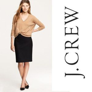 J CREW Perfect Pencil Skirt 100% Wool 17444 NEW! 4